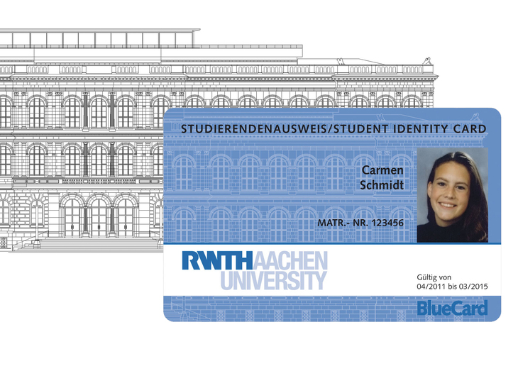 Example of an RWTH BlueCard