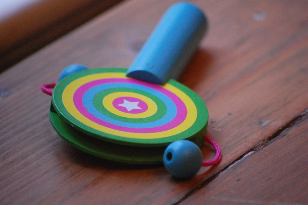 Color toy rattle