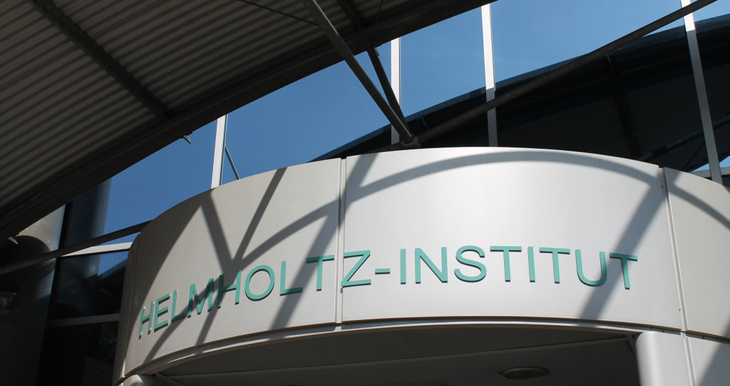 Entrance to the Helmholtz Institute for Biomedical Engineering