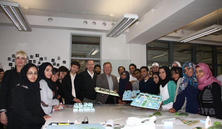 GUtech University students from Oman visit RWTH Aachen