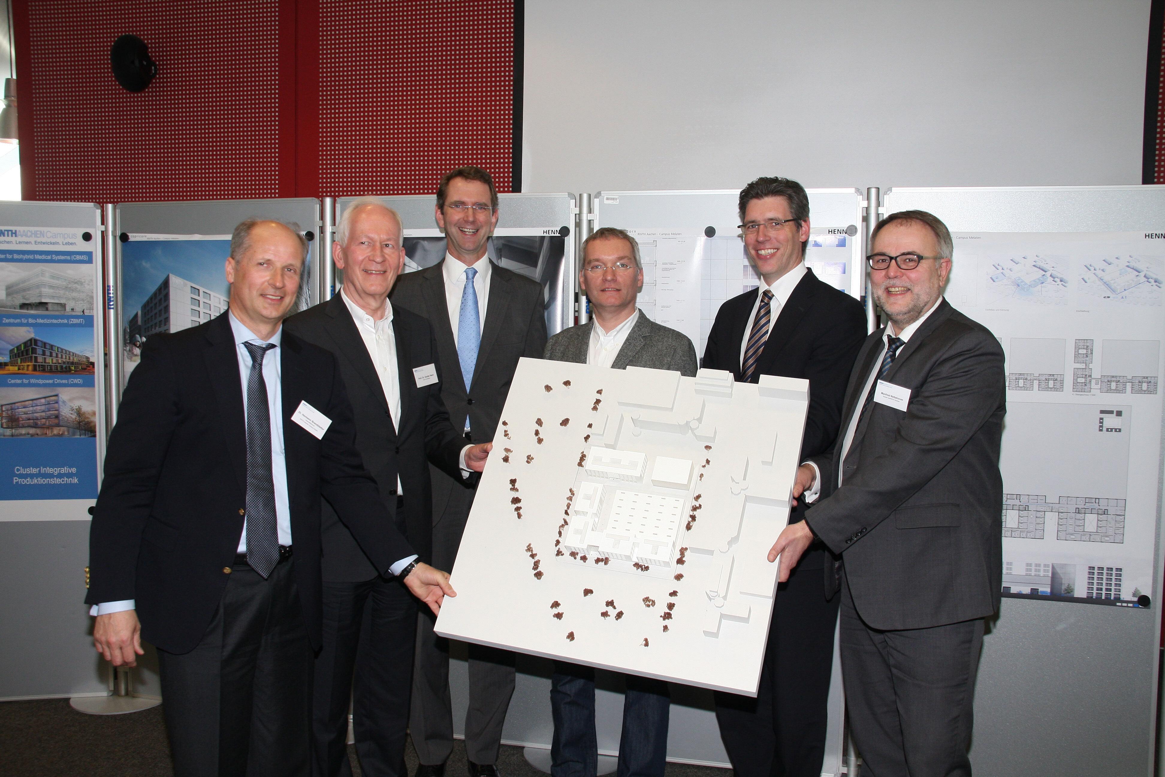 Architekt Aachen rwth aachen cus stellt investoren und architektenteam des