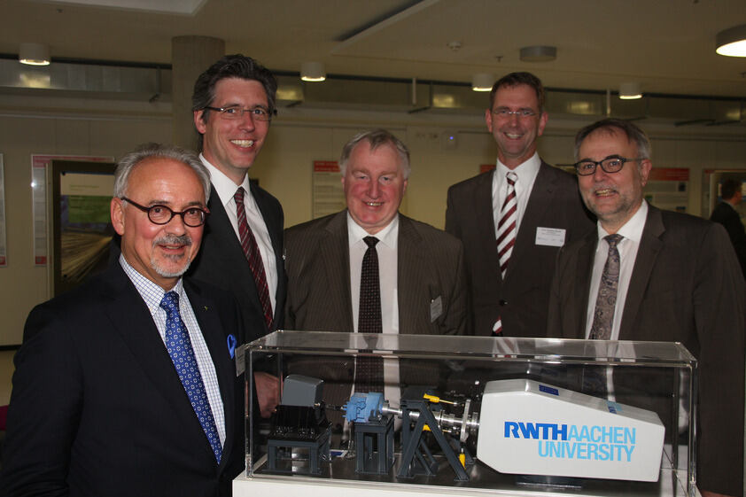 Thh concepts of the RWTH Aachen Research Campus will be presented both nationally and internationally