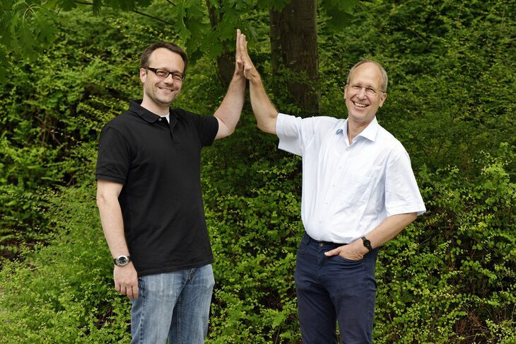 ERC Grant recipients Professors Leif Kobbelt and Matthias Wuttig