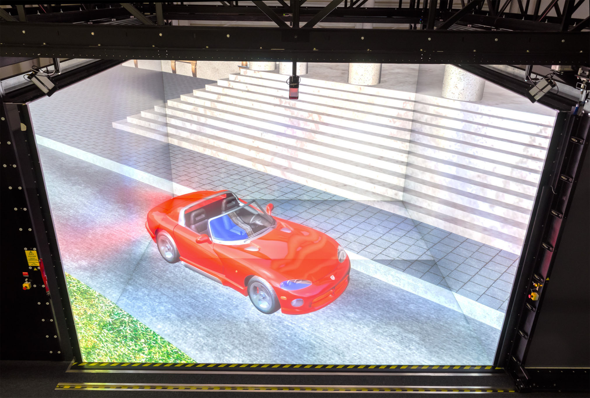 Autosimulation in der Cave