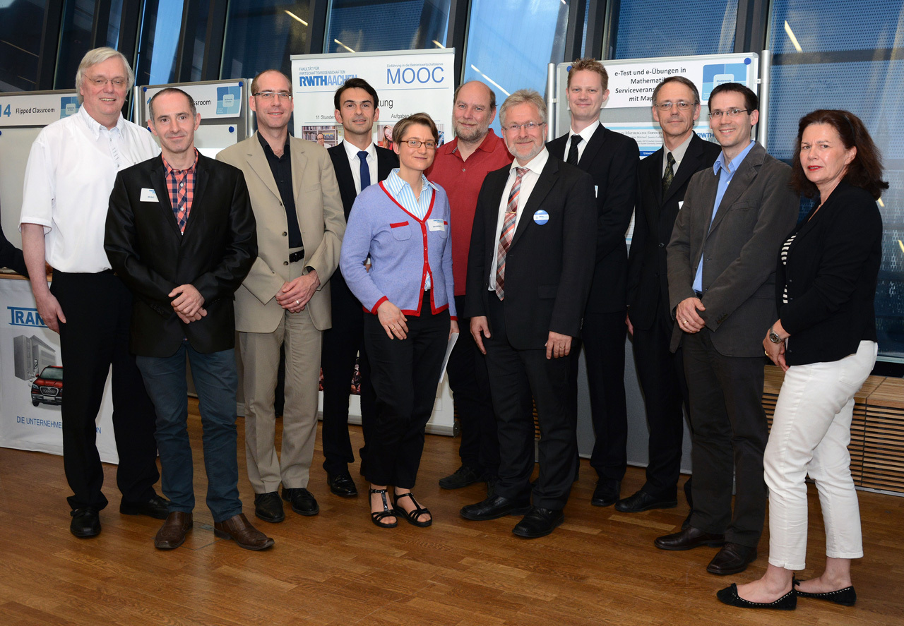 Die RWTH-Lecturers 2014