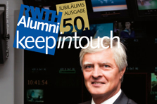 Titelbild des Alumni-Magazins keep in touch