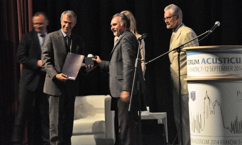 Awarding of the European Acoustics Association Award