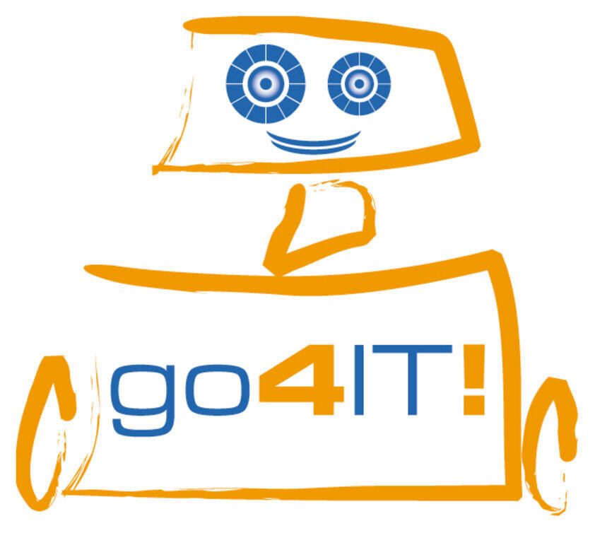 Logo: go4IT!
