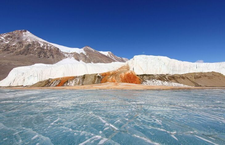 Blood Falls in Antarctica