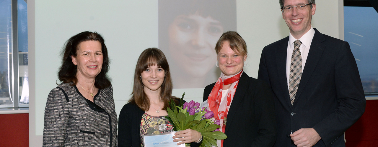 DAAD Award for Liudmyla Goncharenko