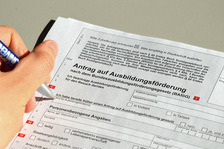 BAföG application form