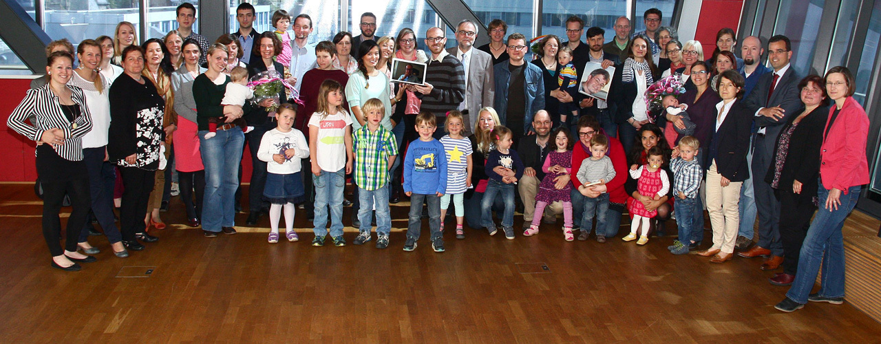 "The recipients of ""Famos f�r Familie"""