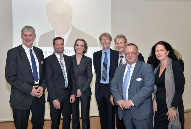 Gruppenbild der RWTH Fellows 2015