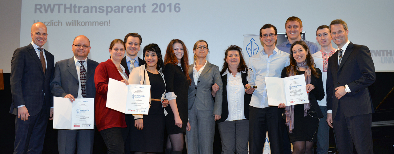 Winners of the 2015 Innovation Award