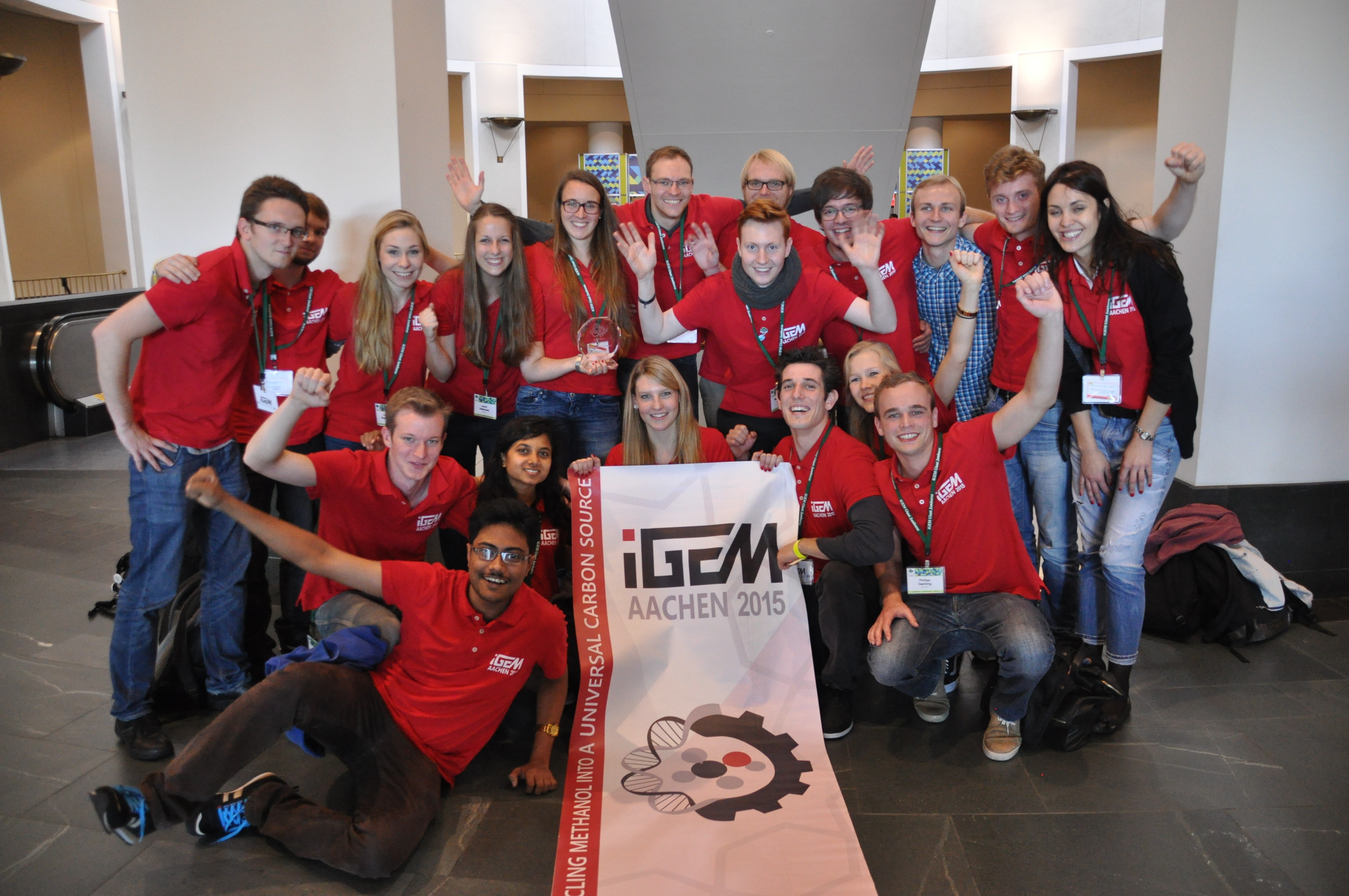 Aachener iGEM Team holt Gold in Boston
