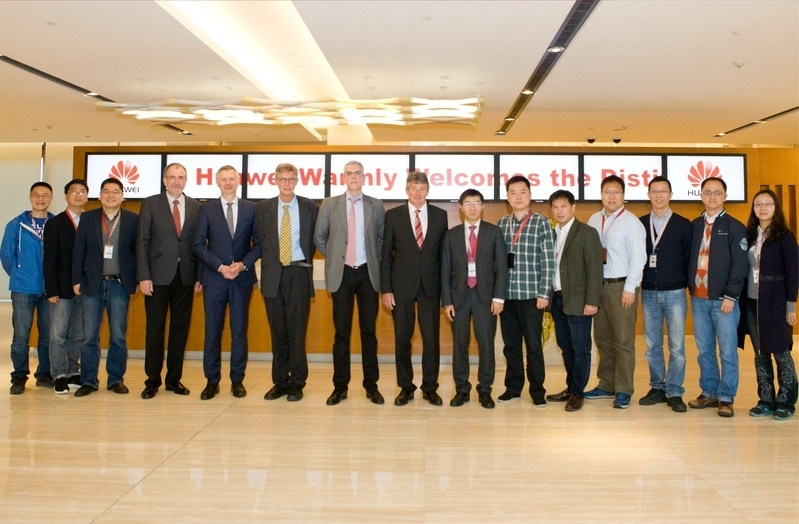 Huawei Workshop 2016 - Gruppenfoto