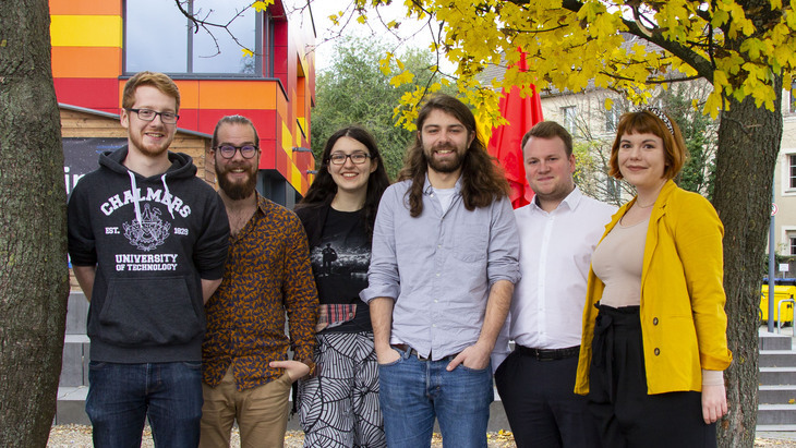 AStA officer group photo