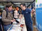 ISC-Stand auf dem Welcome Day