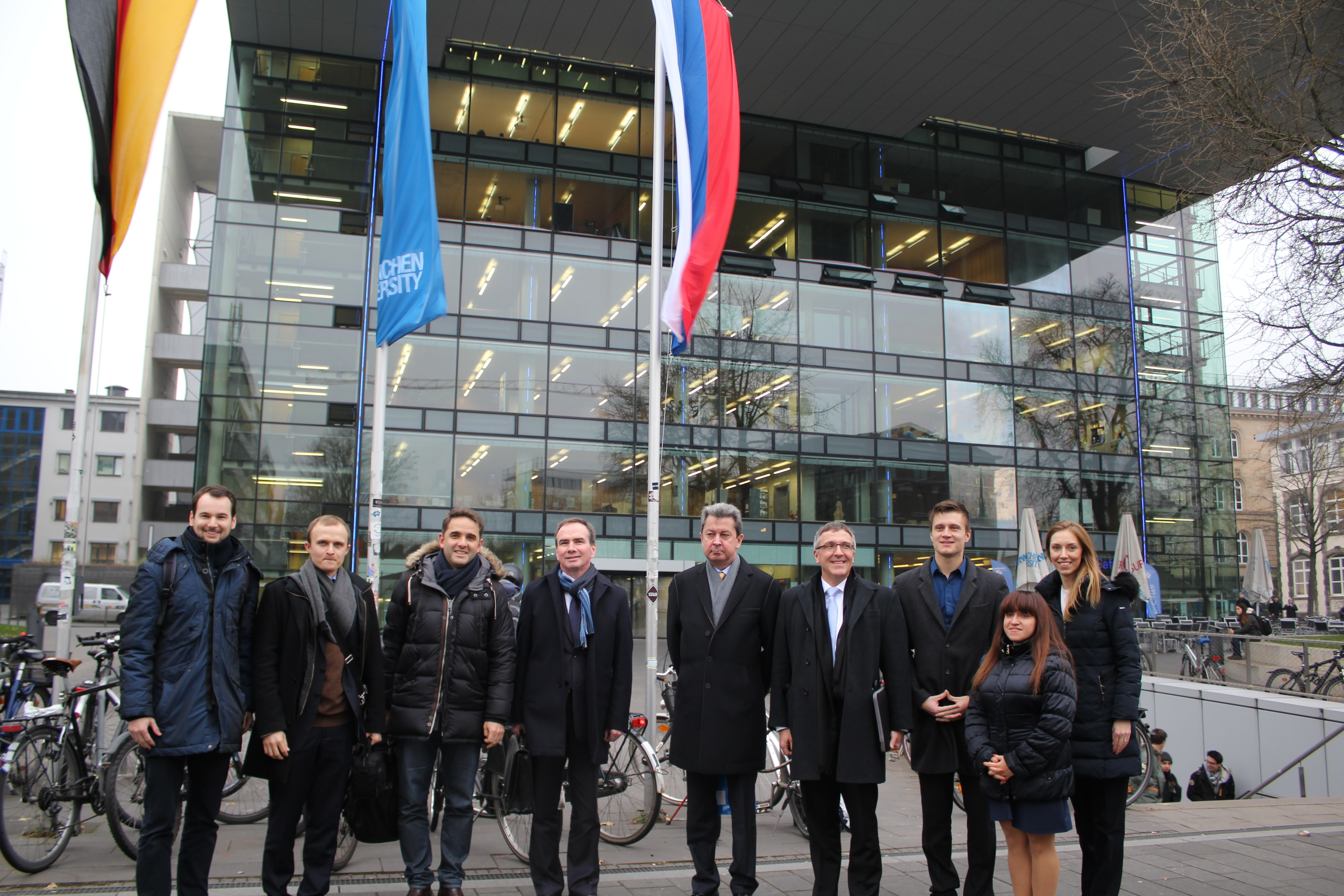 Visit by the Consul General of the Russian Federation in Bonn