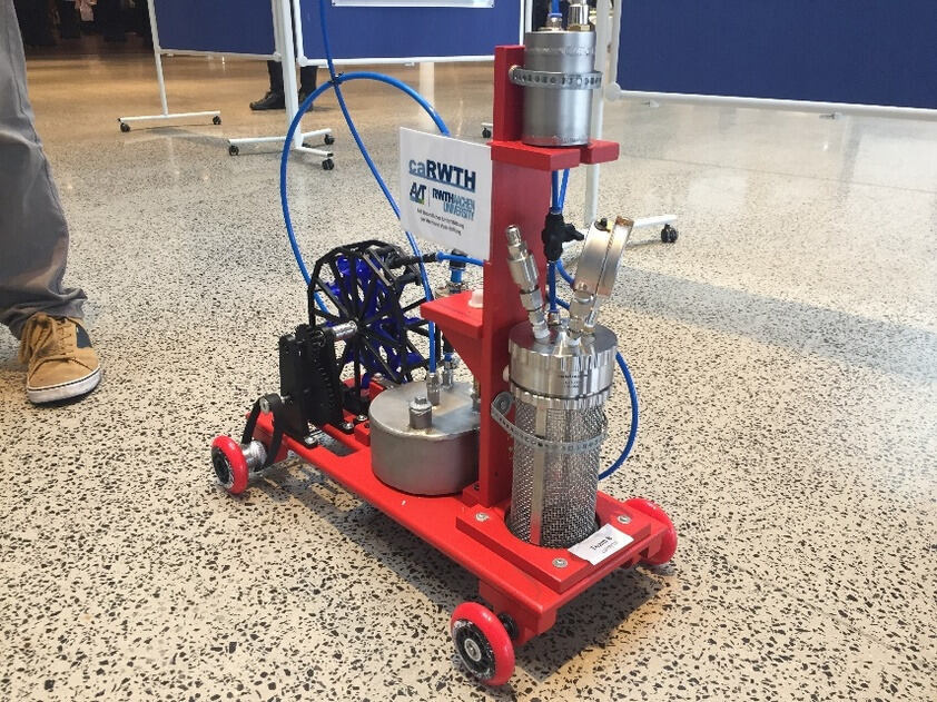 A ChemCar model developed by the RWTH team