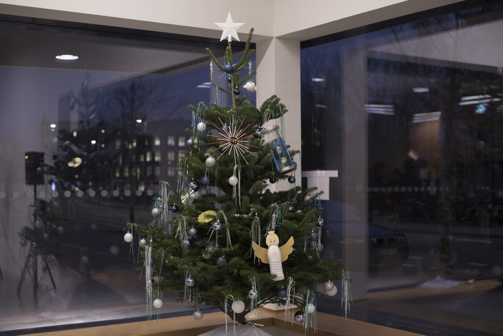 Decorated Christmas Tree of the AVT