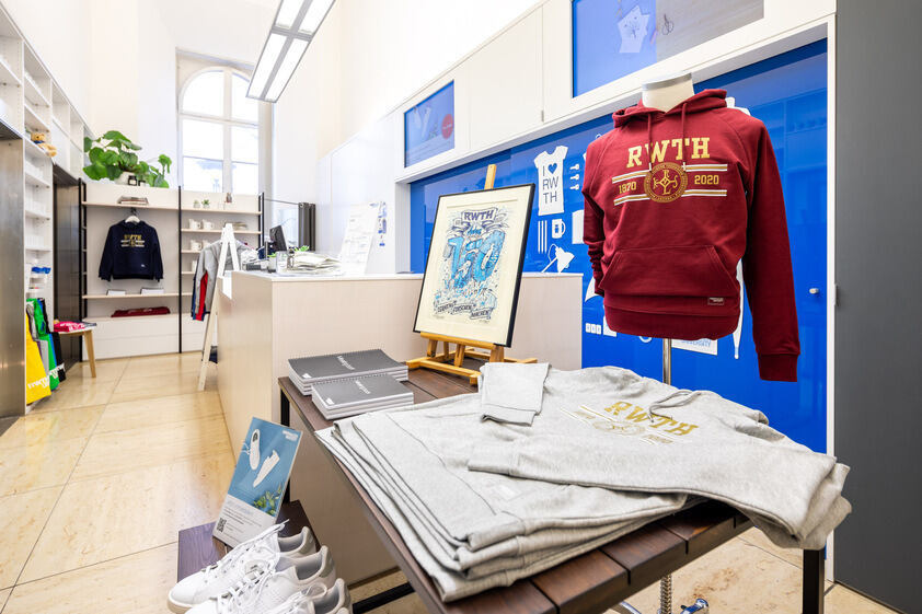 Inside the RWTH Shop