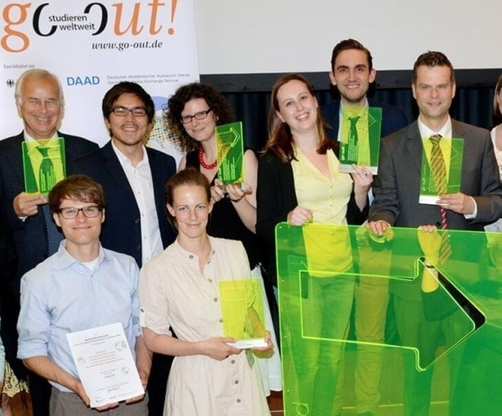 "Verleihung des ""go out award"" in Berlin"