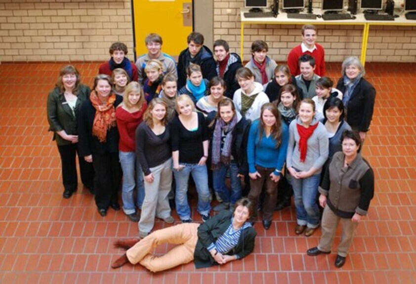 Projektgruppe Fit for study des Einhard-Gymnasiums